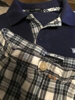 "boys shorts and tshirt set ""Burberry "" Age 12 Really Lovley"