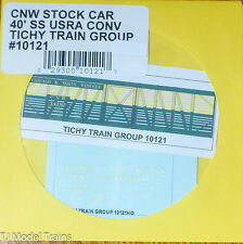 Tichy Train Group #10121 Decal for: Chicago & North Western USRA 40' Wood Stock