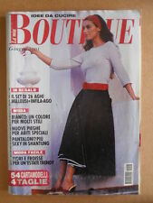 La Mia Boutique n°6 2001 con cartamodelli  [D55]