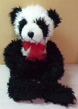 """Vintage Russ Berrie Panda Bear Ping Pong Plush 16"""" stuffed animal toy"""