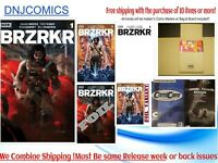 BRZRKR #1 (BERZERKER) COVER A B C D E  Set -  KEANU REEVES - 02/24 PRE-sale