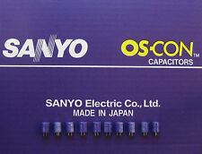 10pcs Oscon Sanyo OS-CON 560µF/4V