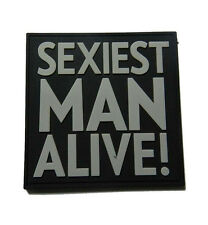 PATCH JTG 3D GOMME SEXIEST MAN ALIVE PAINTBALL AIRSOFT ARMEE MILITAIRE INSIGNE