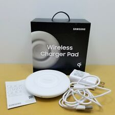 SAMSUNG Wireless Fast Charger Pad Qi (2018) S8 S9 S10 Note8 Note9 Gear White