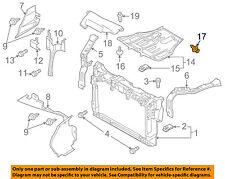 MAZDA OEM 07-17 CX-9 Rear Bumper-Bumper Cover Fastener GD7A50EA1