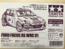 50922 Tamiya 1/10 Ford Focus RS WRC 01 Body Parts Set