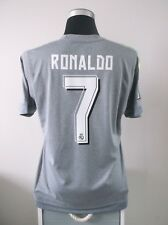CRISTIANO Ronaldo #7 REAL MADRID AWAY FOOTBALL SHIRT JERSEY 2015/16 (L)