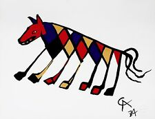Beastie (Flying Colors), 1974 Limited Edition Lithograph, Alexander Calder
