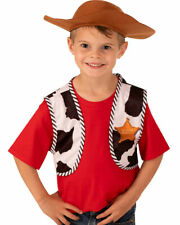 Disney Toy Story Woody Kids Vest And Hat Accessory Kit One Size