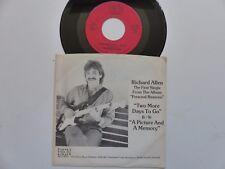 RICHARD ALLEN Two more days to go BEN RECORDS 101188 FOLK COUNTRY RRR