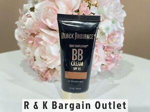 Black Radiance True Complexion BB Cream SPF 15 8921 Coffee Glaze Sealed