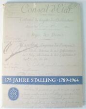175 Jahre Stalling 1789 - 1964 als Manuskript gedruckt Festschrift Kunst y4-199