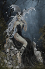 """Mad Queen by Nene Thomas Mini Poster - 11"""" x 17"""""""