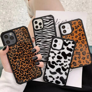 Zebra Milk Leopard Phone Case Cover For iPhone 12 11 Pro Max X XS XR 7 8 SE 2020