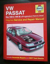 Volkswagen passat haynes workshop manual 1988-1996 petrol and turbo diesel