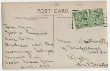 Mrs Weatherall, 9 Temperance Field, Wyke, Bradford 1918 Postcard, B275