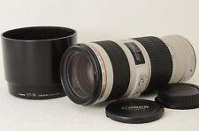 Canon EF 70-200mm f/4 L IS USM Lens Excellent from Japan (03-I33)