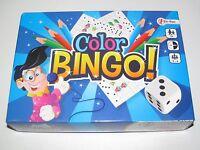 Coffret Jeu Société du Bingo Color Game NEUF