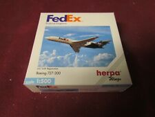 HERPA WINGS FEDEX BOEING B727-200 1/500