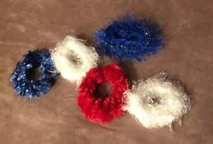 Handmade Crotchet Hair Scrunchies