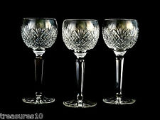 Waterford Crystal Glass Hock Wine Glasses