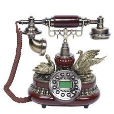 Vintage Telefon mit Wählscheibe Desk Retro Geschenk Festnetztelefon Haustelefon