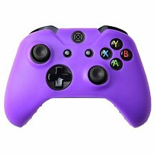 Silicone Soft Case Protect Skin for Xbox One Wireless Controller Violet Purple