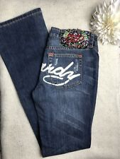 Ed Hardy Distressed Jeans Women Size 28