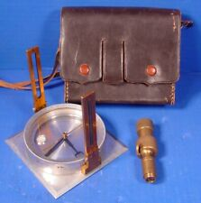 Keuffel Esser Surveryor/Foresters Compass, w/Swivel Adapter in Leather Case