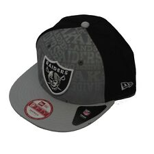 CAPPELLO NEW ERA 9FIFTY DRAFT 14  OAKLAND RAIDERS