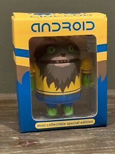 Werewolf - Android Mini Collectible - Summer - Dead Zebra Andrew Bell