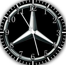 Mercedes Benz Frameless Borderless Wall Clock Nice For Gifts or Decor G02