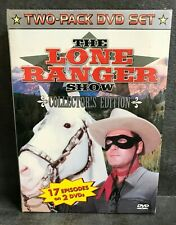 NEW DVD(2) Movie - The Lone Ranger Show Collector's Edition - 17 episodes