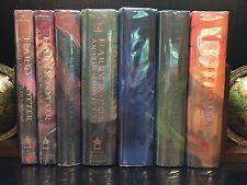 Harry Potter Series (7 books) ~ JK Rowling ~ TRUE First/First (US) ~ HCDJ ~ VG+