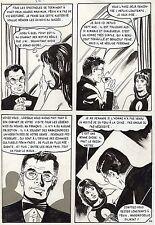 LA LOUVE WEEKEND A PEKIN  (RENAUD) PLANCHE ORIGINALE AREDIT PAGE 54