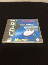 Verbatim 700MB/80 Min CD-R Disc With Jewel Case 1X-16X Speed AZO Blue