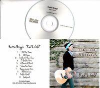 HATTIE BRIGGS Red & Gold 2015 UK 10-trk promo test CD