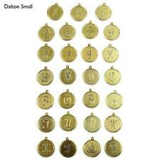 Moon & Lola DALTON Gold Small Initial Charms - Your Choice
