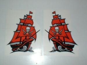 TAMPA BAY BUCCANEERS FULL SIZE FOOTBALL DECALS