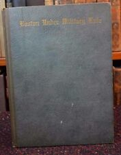 BOSTON UNDER MILITARY RULE 1768-1769 JOURNAL by Dickerson Mt Vernon Press 1936