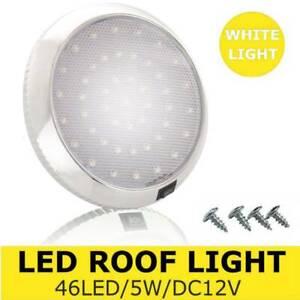 UK 46LED Ceiling Cabin Lights DC12V Caravan Campervan van Trailer Interior Lamp