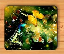 BUTTERFLY WORLD OF COLORS MOUSE PAD -klj9Z