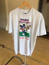 Vintage Disney Mickey Mouse Football T Shirt Size XL 1992