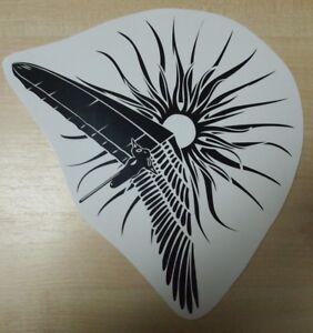 HANG GLIDING PILOT EAGLE SPORT Decals Stickers Emblem Vinyl Self Adhesive