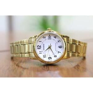 Casio LTP-V002G-7B Standard Analog Gold-tone Stainless Steel Ladies' Dress Watch