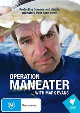Operation Maneater with Mark Evans (DVD, 2015) New Region All