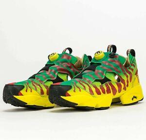 Reebok Jurassic Park Instapump Fury OG GW0212 Running Shoes Sneakers