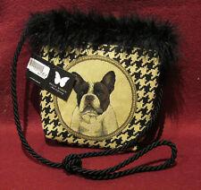 Französische BULLDOGGE FBD 02 SCHULTERTASCHE Tasche Umhängetasche Bag 32