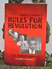 VG Barack Obama Rules for Revolution The Alinsky Model President David Horowitz