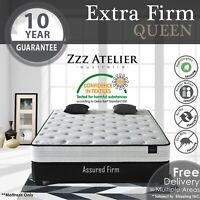 QUEEN Mattress - Super Firm Mattress w/ Extra Firm Pocket Spring + Ultra HD Foam